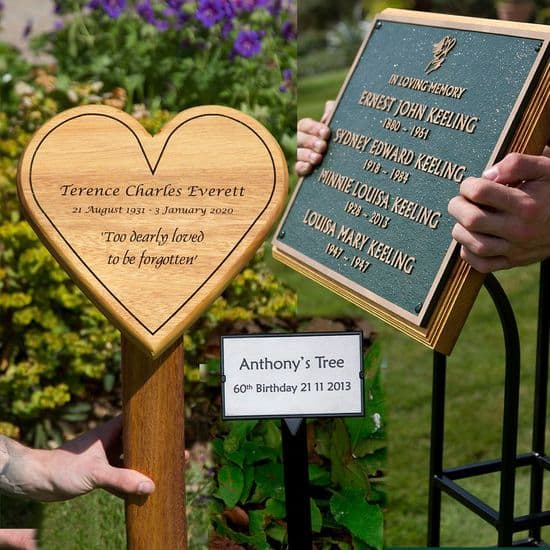 Tree Stakes and Plaque Holders