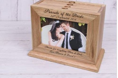 Wooden Photo Album with Parents of the ....