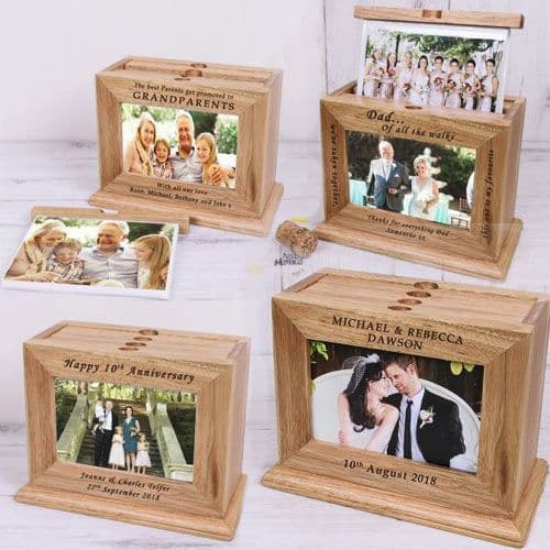 Wooden Photo Albums