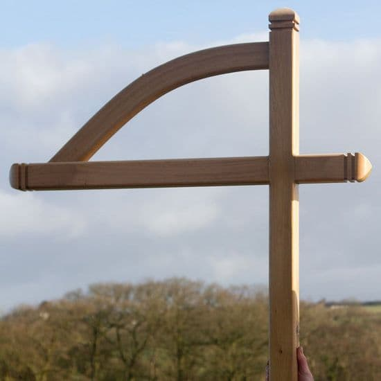 Wooden Posts and Brackets