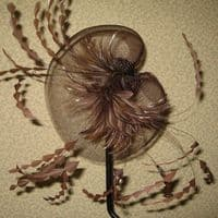 Brown Crin Fascinator (SN455)