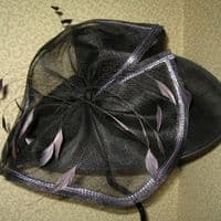 Charcoal MYHat Large Brimmed Hat (SN196)