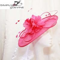Fuchsia Mother of the Bride hatinator 13103