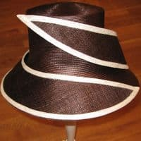 Kentucky Derby Brown Hat W45
