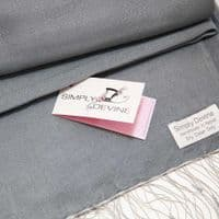 Medium Grey Wedding Special Occasion Pashmina