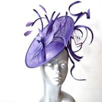 """Mother of the bride purple """"wiggle"""" hatinator 16364/SD755"""