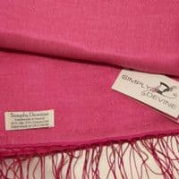 Shocking Pink Special Occasion Wedding Pashmina