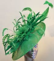 Statement  Mother of the Bride Emerald Green hatinator 16477/SD490