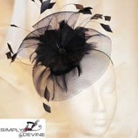 Very Dark Navy Wedding Hatinator 1176