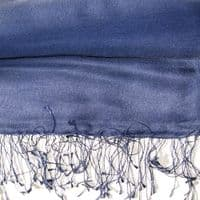 Watersilk Pashmina Iris Purple-Blue  F54-F55
