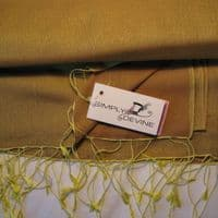 Watersilk Pashmina (Woodland Yellow)  P30 - £29.00