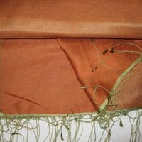 Watersilk Pashmina (Antique Orange) P46