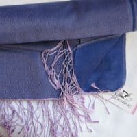 Watersilk Pashmina (Blue Pink Mix) KK103