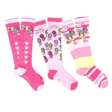 Bang On The Door Pony Girls Triple Sock Pack