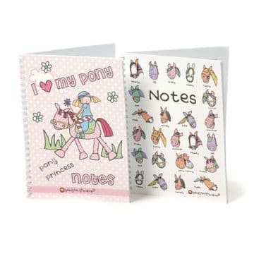 Carrots Bang On The Door Pony Design Notebooks