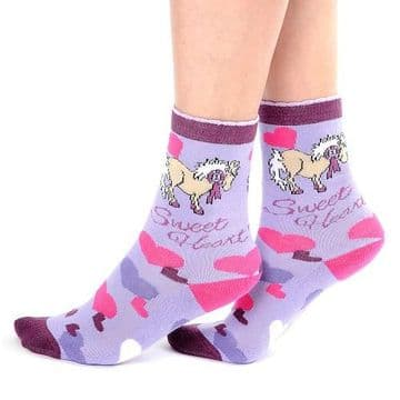 Carrots Me to You Sweetheart  Calf Length Socks