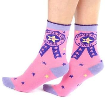 Carrots Number One Rider Calf Length Socks