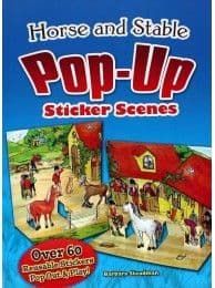 Horse and Stable Pop-Up Sticker Scene Book
