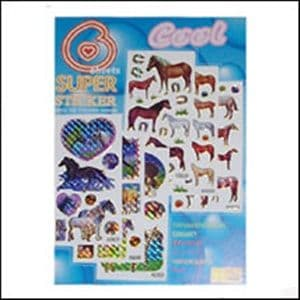 Horse Stickers 6 sheets