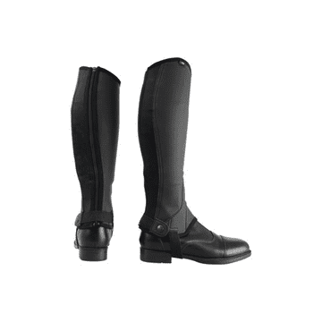 Hy Equestrian Children's Synthetic Combi Leather Chaps