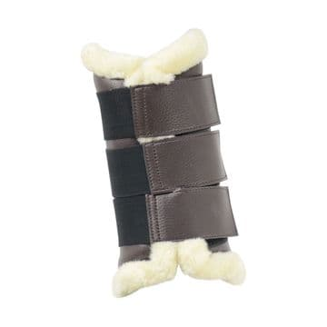 Hy Equestrian Combi Leather Brushing Boots