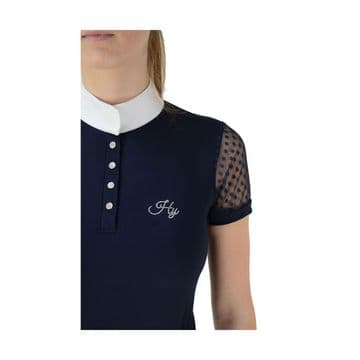 Hy Equestrian Lydia Lace Show Shirt