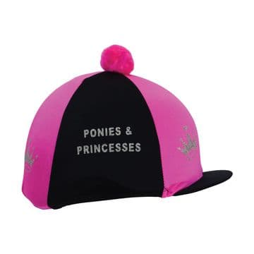 Hy Equestrian Ponies & Princesses Hat Cover