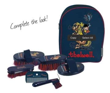 Hy Equestrian Thelwell Complete Grooming Kit In A Rucksack