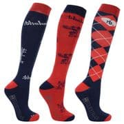 Hy Equestrian Thelwell Ladies Socks