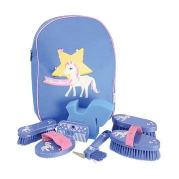 Hy Little Rider Show Pony Complete Grooming Kit In A Rucksack