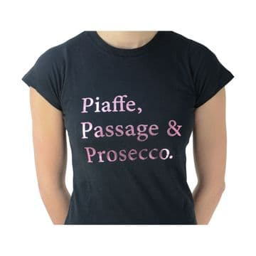 HyFASHION Piaffe, Passage and Prosecco T-Shirt