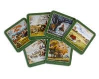 Thelwell Hunting Drinks Coasters 6 Pack           (te)Pv
