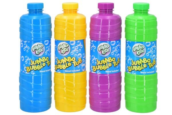 1 KANDY TY4409 Litre Bubble Tub Including Wand (4 Assorted Colours)