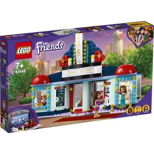 41448 Heartlake City Movie Theater LEGO Friends