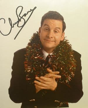 A037 - BRITTAS EMPIRE Chris Barrie Signed 10x8 photo