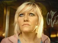 A133 DR WHO - Camille Coduri Signed 10x8 Colour Photo