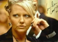 A134 DR WHO - Camille Coduri Signed 10x8 Colour Photo