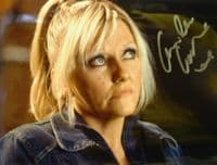 A135 DR WHO - Camille Coduri Signed 10x8 Colour Photo