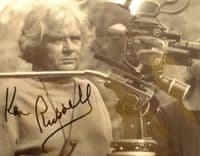 A142 - KEN RUSSELL Signed 10x8 Photo