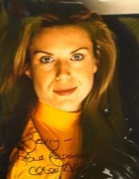 A150 - RED DWARF Chloë Annett Signed 10x8 Photo