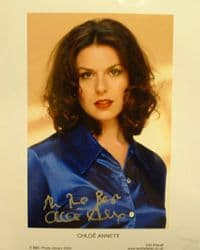 A157 - RED DWARF Chloë Annett Signed 10x8 Photo