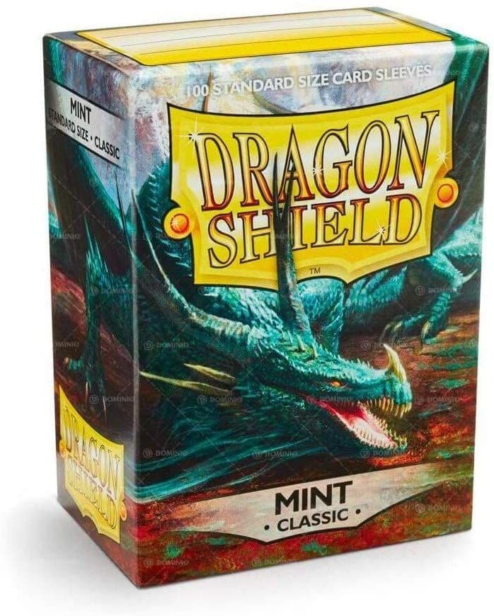 Dragon Shield - Box of 100 Sleeves Mint Standard size  Card Game