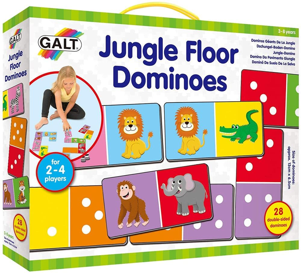 Galt Toys Jungle Floor Dominoes