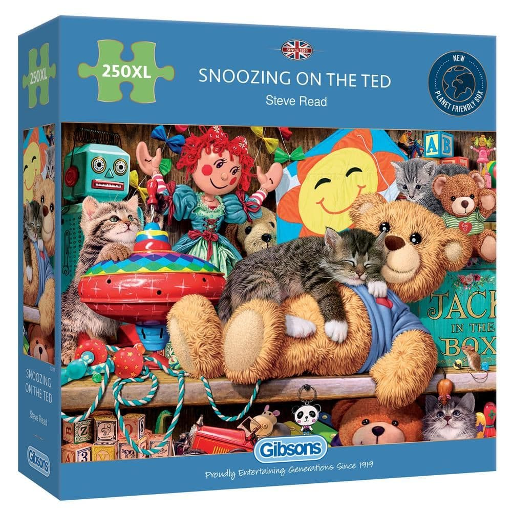 Gibsons G2719 SNOOZING ON THE TED 250XXL pc Jigsaw Puzzle