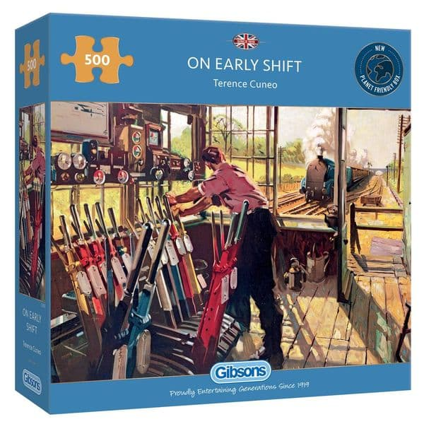 Gibsons G3135 ON EARLY SHIFT 500pc Jigsaw Puzzle (8) (29)