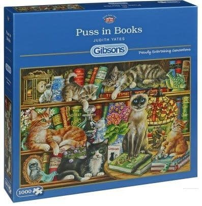 Gibsons G6147 PUSS IN BOOTS 1000pc  Jigsaw Puzzle