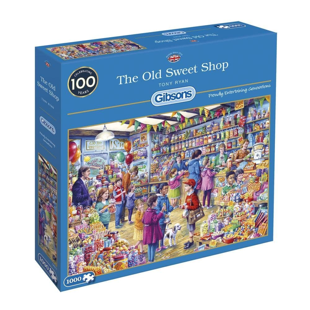 Gibsons G6272 THE OLD SWEET SHOP 1000pc Jigsaw Puzzle