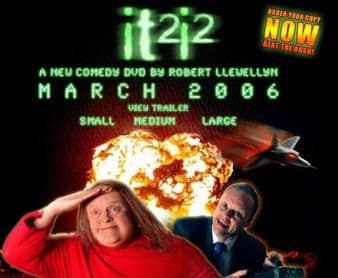 It2i2 DVD Signed by Red Dwarf ROBERT LLEWELYN