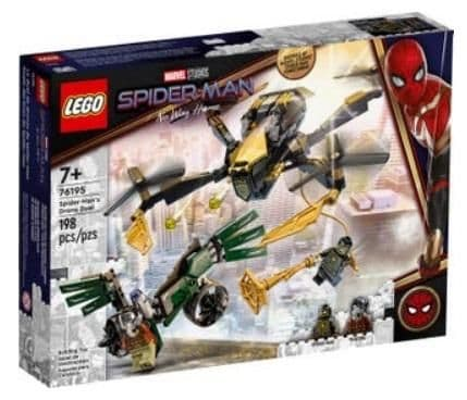 LEGO 76195 MARVEL SPIDERMANS DRONE DUEL