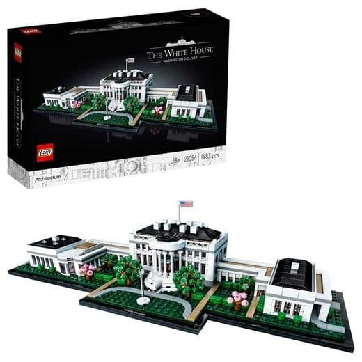 LEGO Architecture The White House Display Model 21054 Age 12+ 1483pcs